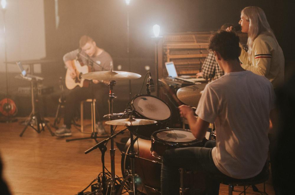 Drums in Ossett